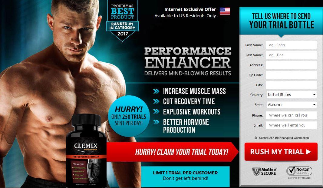 Clemix Testosterone Complex 2