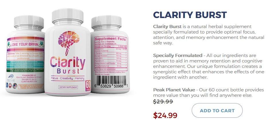 Clarity Burst 2