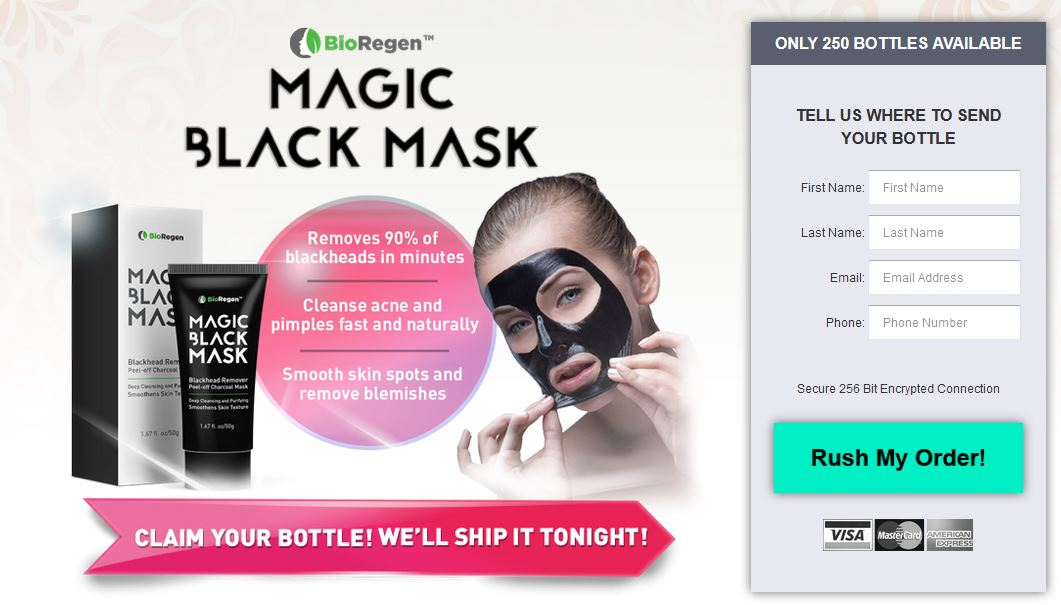 Magic Black Mask 2