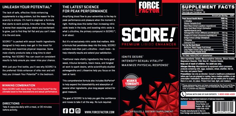 Force Factor Score 1