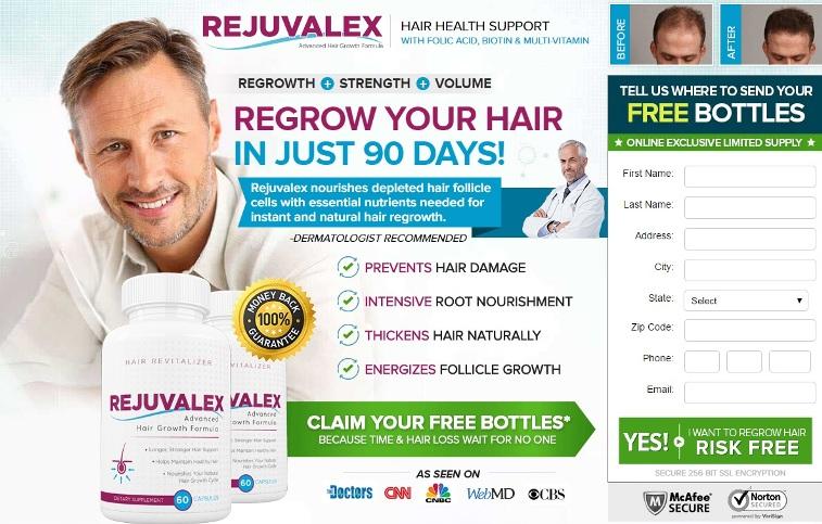 Rejuvalex Reviews Hair Growth Supplement Benefits
