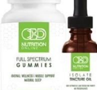 Hemp CBD Nutrition
