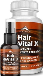 Zenith Labs Hair Revital X