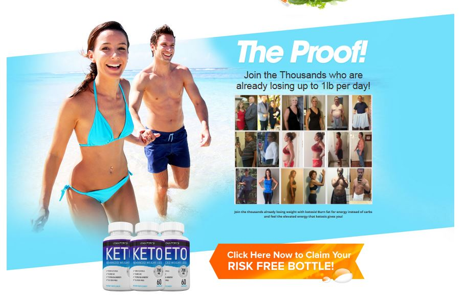Keto Lean Force-1