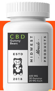 Midwest Miracle CBD Gummies – Eliminate Pain & Prevent Mood Swing!