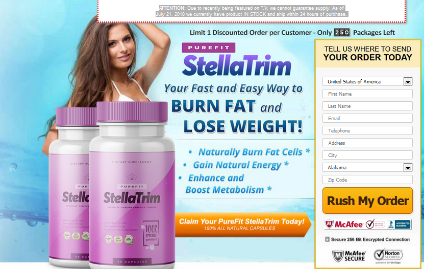 StellaTrim Garcinia – Increase Your Serotonin Level To Reduce Extra Fat!
