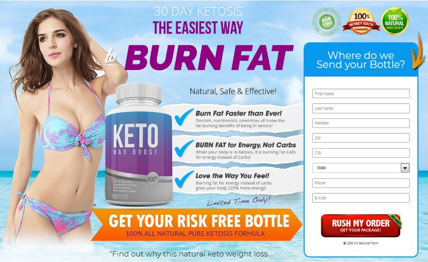 Keto Max Boost – Natural & Effective Way To Get Slim Belly!