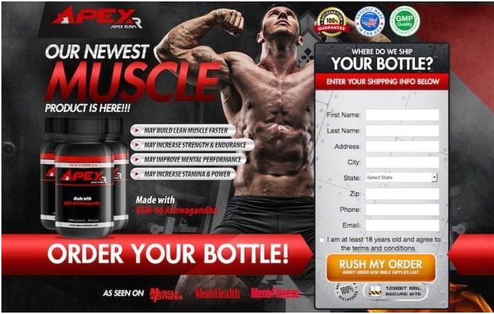 Apex Rush Muscle – Easy Way To Increase Muscle Size!
