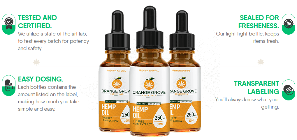 Orange Grove Oil - 1