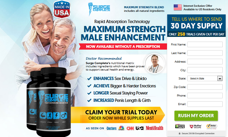 Surge Complete Testosterone Booster - 2