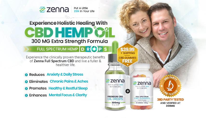 Zenna Full Spectrum CBD - 1