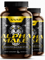 Snap ALPHA MALE Testosterone Booster -Get Sexual Stamina & Strength