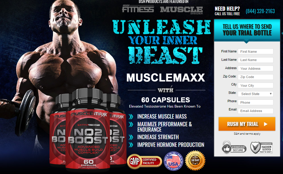 Muscle Maxx NO2 - 2