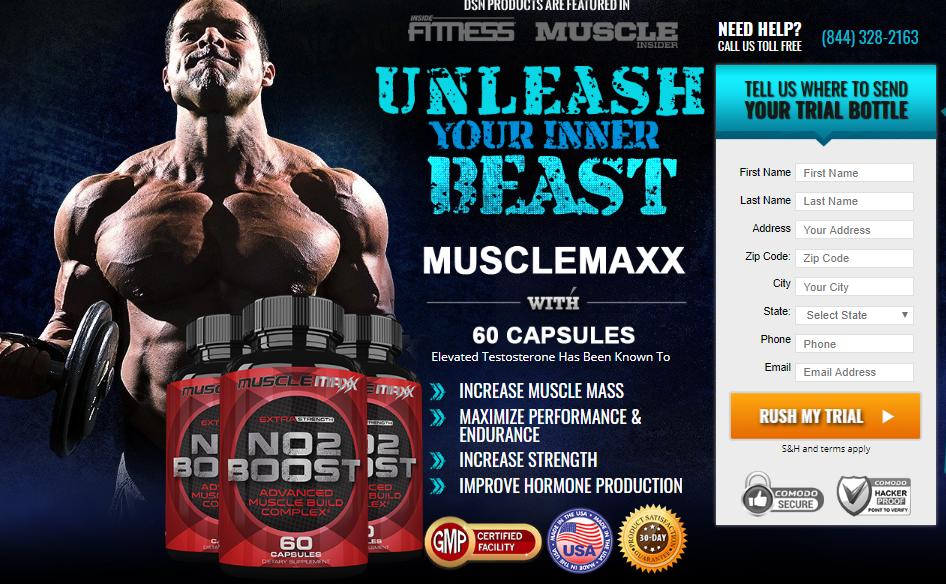 Muscle Maxx NO2 - 2
