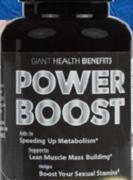 Power Boost Testo