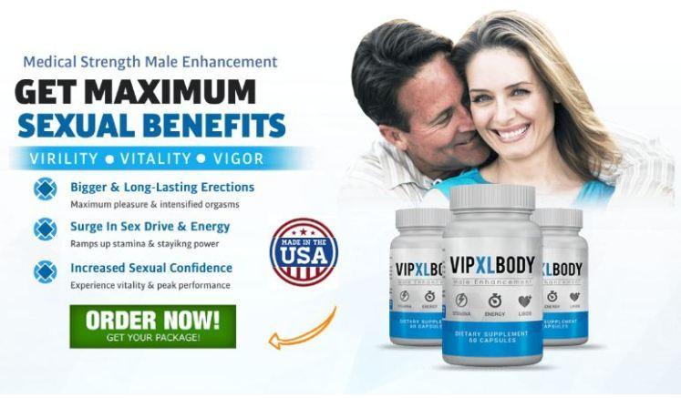 VIP XL Body Male Enhancement- 1