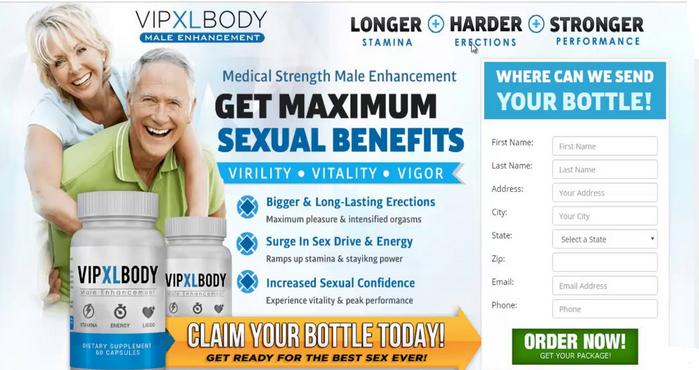 VIP XL Body Male Enhancement -2