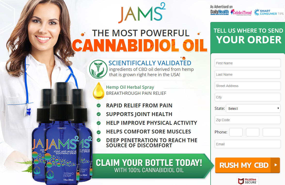 Jams2 CBD Oil -2