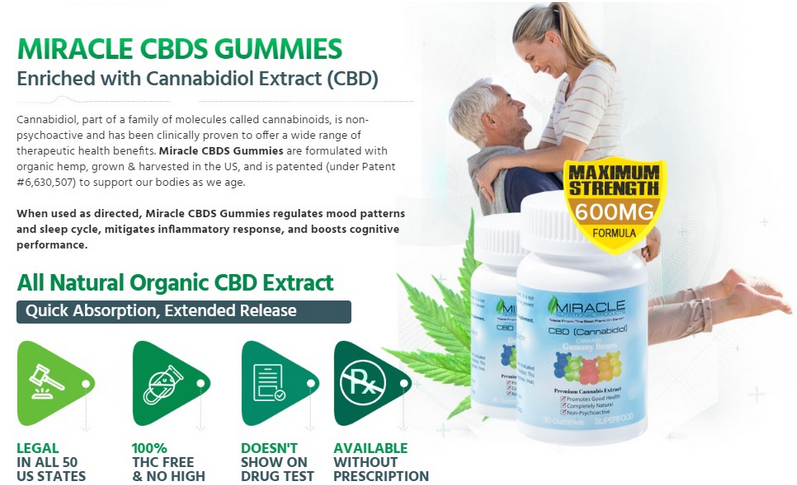 Miracle Nutritional CBD 1