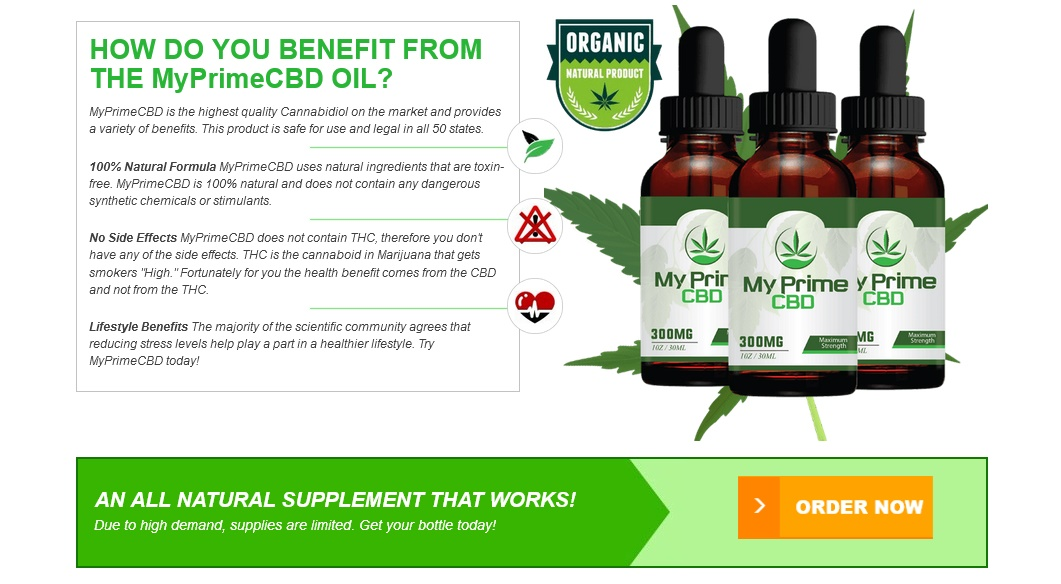 My Prime CBD Oil - 1