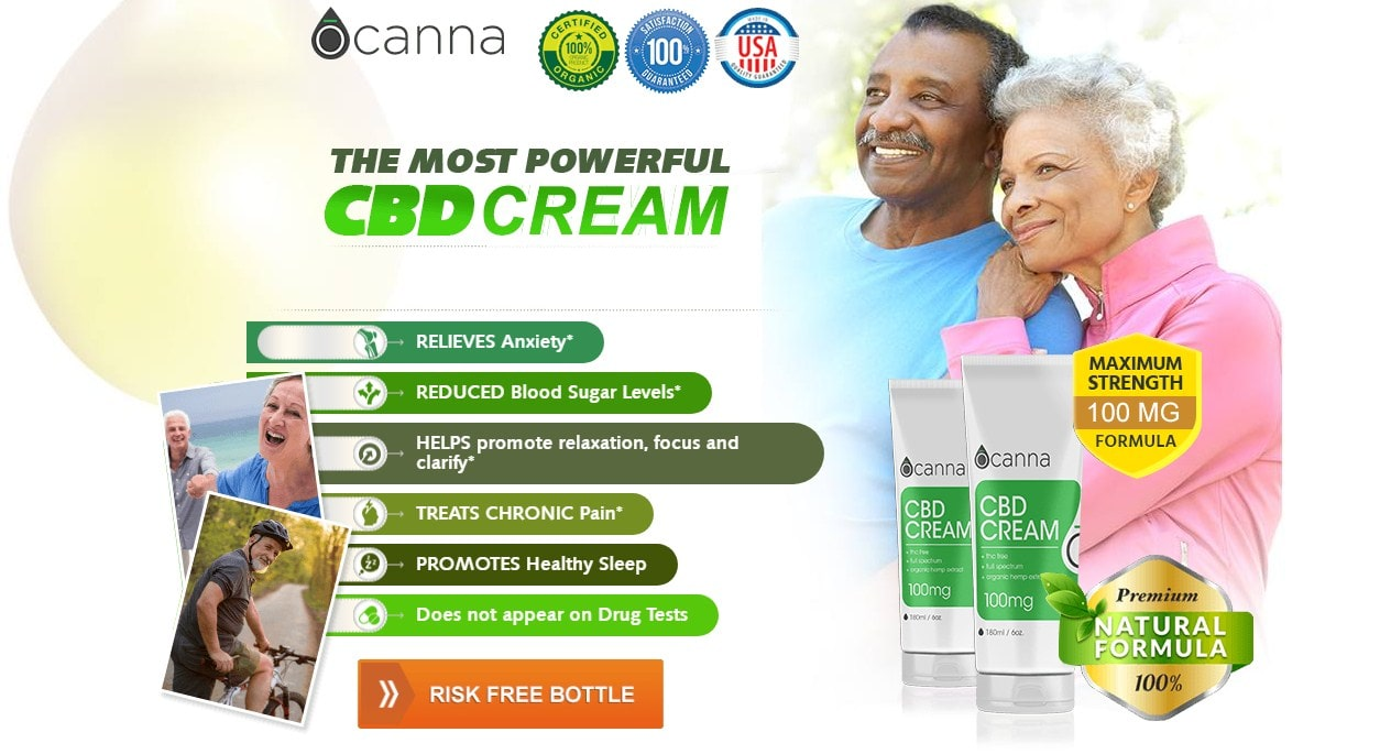 Ocanna CBD Cream - 1