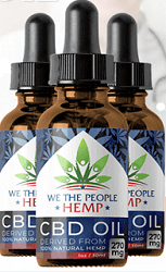 We The People Hemp CBD Oil
