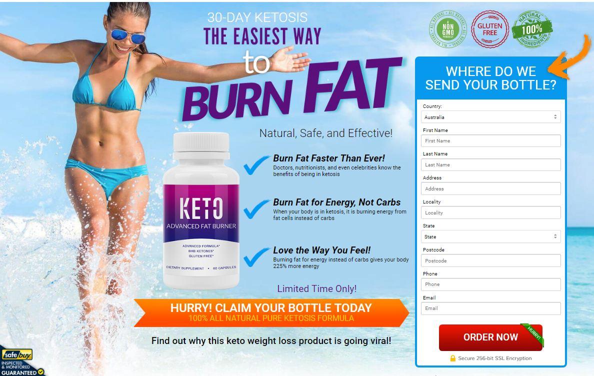 Keto Advanced Fat Burner order